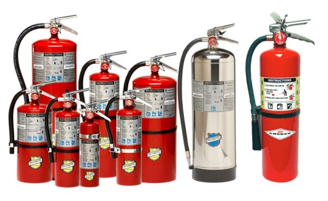 Fire Protection - Fire Extinguishers